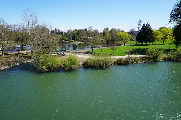 Alton Baker Park Элтон Бейкер Парк Юджин в штате Орегон
