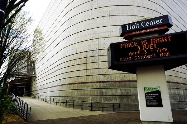Халт центр театральных искусств Юджин в штате Орегон