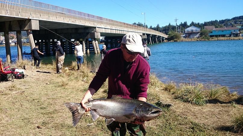 Ловля лосося