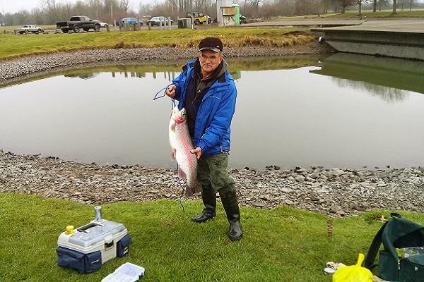 Ловля форели в Орегоне
