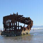 Обломки кораблекрушения Peter Iredale