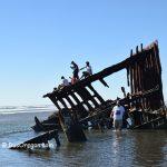 Форт Стивенс - Обломки кораблекрушения Peter Iredale