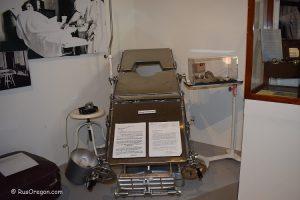 Оборудование для лоботомии - музей госпиталя в Сейлеме