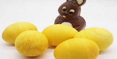 Готовьте с куркумой – Окрашивание пасхальных яиц