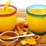 Чай с куркумой и имбирем для здоровья