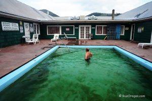 Горячий источник Хантерс - Hunters Hot Springs