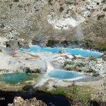 Геотермальная зона Хат Крик - Hot Creek Geological Site